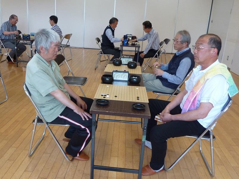 恵み野囲碁同好会 2019年6月定例大会表彰者