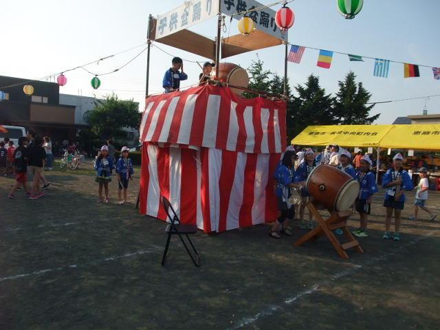令和元年ふれあい夏祭り開催される