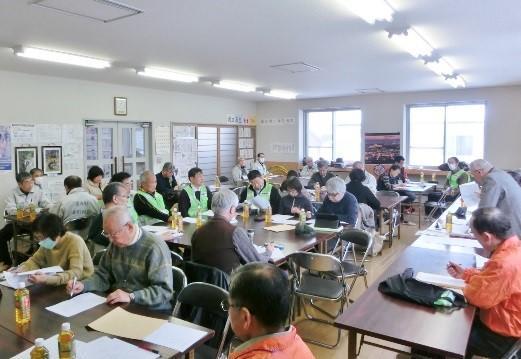 防災対策隊 第1回研修会